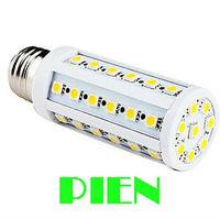 Wholesale 5050 SMD LED E27 8W 44 LED Corn Light Lamp Bulb 220V warranty 2 years CE ROHS Approve by DHL x 100pcs