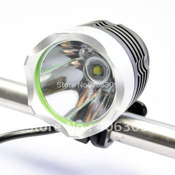U2 Bike Light HeadLight 1800 Lumens 3 Mode Waterproof Bike Front Light LED HeadLamp With 8.4v 4400mAh Battery Pack & Charger
