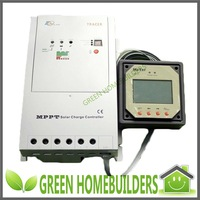 12V/24V DC auto work,40A MPPT solar charge controller Tracer4210 with MT-5 remote meter