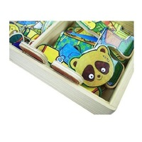 Children's educational toys 3 / S Winnie the locker fun puzzle box  #2060