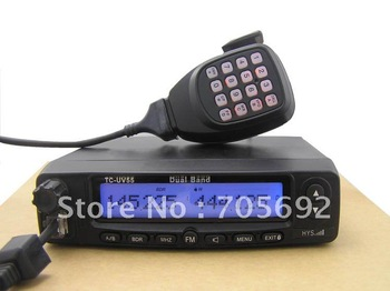 Newest Dual Band Fm Mobile transceiver+Free shipping(DHL)