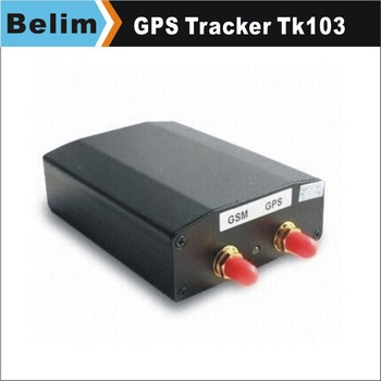 Free Shipping High Quality TK103 Vehicle/Car GPS Tracker with 4 Quadbands,GPS Tracking Systerm with RC GPS/GSM Antenna