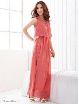 Free Shipping Bohemia Pleated Wave Lace Strap Princess Chiffon Maxi Long Dress,4 colors 1 Piece