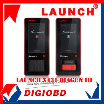 2013 Universal Car Diagnostic tool Launch X431 Diagun III Original Auto Scanner Update via Launch Official Website X-431 Diagun3