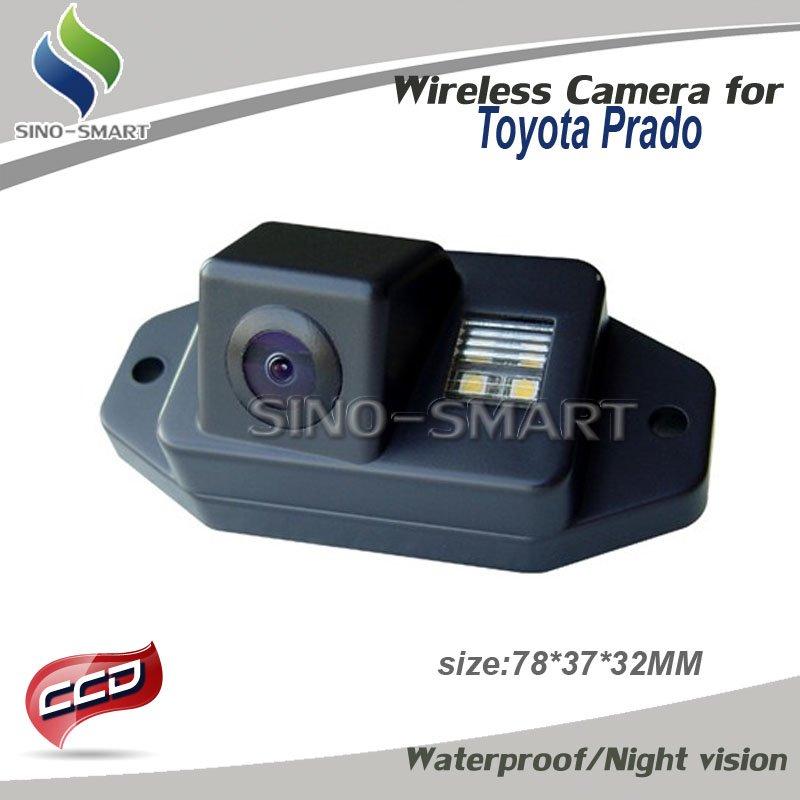 "Система помощи при парковке DHL ship 4PCS mixture models 2.4Ghz Wireless parking camera CCD 1/3"" Reversing camera for Toyota Prado 2007-2010 Waterproof"