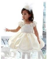 New  Princess Dress ,Flower girl dresss, 2013 summer kids,Good Quality ! 8 pcs/lot