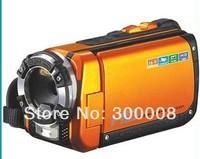 "Super waterproof HD Digital video camera Underwater Waterproof Camera camcorder with 3.0"" TFT LCD screen"