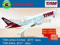Free Shipping!!Brazil TAM airline gift airplane model aircraft plane model kit chrimas gift