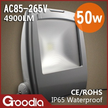 best price,50w flood light,AC85~265V,CE&ROHS,4900lm,IP65,50w street led energy efficiency light