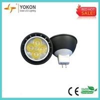 Free shipping 10pcs/lot high spotlight Cool white MR16 5w 300lm