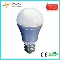 Free Shipping 10pcs/lot Warm White 8W 620LM A60 E27/E26 LED Bulbs 60W/65W Replacement Bulbs