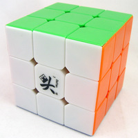 Dayan V zhanchi  5 stickerless 3x3x3 cube speed cube 3x3 full color