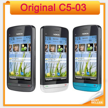 Original unlocked Nokia C5-03 Cheap Touchscreen Mobile Phone Fast Free Shipping