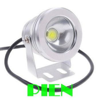 Underwater LED FloodLight 10W swimming Pool Outdoor Waterproof Round Spot lamp 12V Green|Blue|Red FlatLens by Express 10pcs/lot