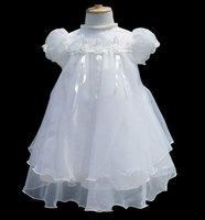 2014 Sale fantasia infantil Girls Chiffon White denim lace Dresses vestidos kids feminino Children meninas vestir princess dress