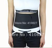 Provide QH-0485  Breathable Mesh lumbar support waist support sleeve brace neoprene material