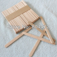 Free Shipping Wooden Popsicle Sticks   DIY Craft Tool   Wooden Spatula   Ice Cream Stick   114*10*2 mm, Stick for DIY Ice cream