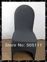 Free shipping standard banquet chair cover   ( black)