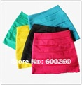 free shipping Cute Candy Colors Knit Skirt Mini Skirt Seven Color S~M#5145