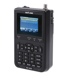 Satlink WS-6906 DVB-S FTA C&amp;KU Band Digital Satellite Finder Meter 3.5&quot; lcd(Hong Kong)