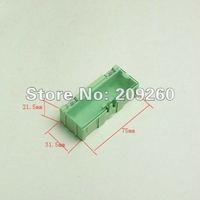 Wholesale 20pcs/lot Green Kit SMD Components Boxes Electronic Laboratory Storage Box  Mini Storage box 75x31.5x21.5 mm