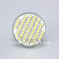 free shipping hot selling 5pcs MR16 60 SMD 220V - 240V Warm White / Cool White 3528 Bulb Lamp 4W Spot Light