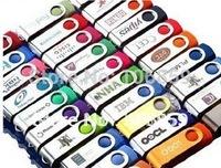 50pcs/lot Usb 2.0 Flash Memory Stick Jump Drive 1GB 2GB 4GB 8GB 16GB Free Shipping
