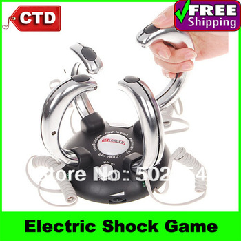 By Post Novelty Toy 4-People Lightning Reaction Revenge Electric Shock Game Toys