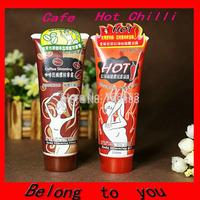 2015 2PCS ( 1 Cafe + 1 Hot Chilli ) Free Shipping 85ML YILI BALO Massage Body Slimming Gel Weight Loss Cream