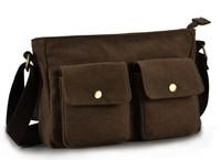 Free Shipping!!! fashion men shoulder bag(BLACK/BROWN)
