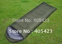 Slae! High Quality, Summer Envelope Cotton Sleeping Bag,Camping sleeping bag.1pcs/lot
