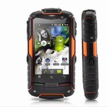 100% Original AGM ROCK V5 New Version Android4.0.4 dual core 512MB RAM + 4GB ROM 3G waterproof phone SG Free Shipping