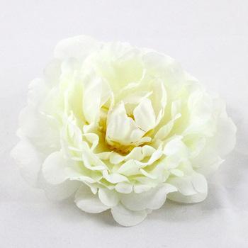 10pcs Peony Flower Artificial Silk Flower Paeony Headband Wedding Floral Decoration