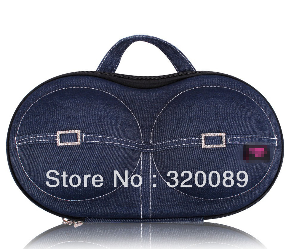New arrival fashion travel bra bag with zipper,underwear storage,your sweet necessary and best gift,travel bra case(China (Mainland))