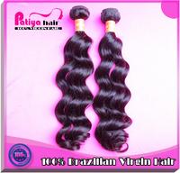 Top selling 6A grade brazilian hair full end 100% Virgin Brazilain natural wave hair 10inch-32 inch 1bundles a lot fast shipping