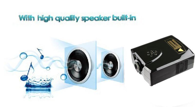 Проектор Cheerlux 1080P /projektori/projetor USB HDMI , DVD, CL312D проектор hitachi hcp 380wx hdmi rj45 usb