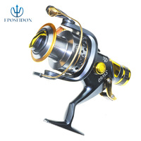 FREE SHIPPING LUXURIOUS SUPERIOR METAL SPINNING GOLDEN FISHING REEL SALTWATER/FRESHWATER 9+1BB SW6000 FISH REEL
