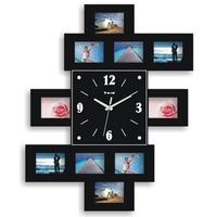 gz018 Free shopping 1pcs clock photo frame clock sitting room fashion simple creative can put photo art frame mute clock photo