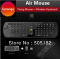 Gyroscope Mini Fly Air Mouse RC11 2.4GHz wireless Keyboard for google android Mini PC TV Palyer box can provide Russian letters