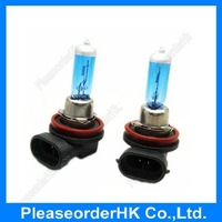 New 2pcs H11 Head Lamp Light Super White 12V 55W 6000K for Car Auto Low Beam Free Shipping