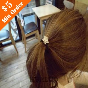 Promotion Rhinestone Star Head Rope Fashion  Hair Band Popular Head Jewelry (Gold) H3