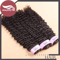 Brazilian virgin hair 3pcs deep curly human virgin hair weft unprocessed hair wig 12-28 inch available free DHL/UPS
