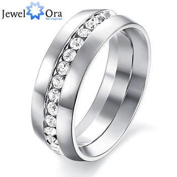 Best Ring For Man Gift The Rings For Women and Men Unisex 316L Eternity Stainless Steel Men Ring (JewelOra Ri100192)
