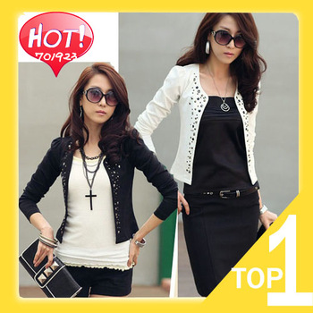 2013 new hot sale  Fashion Cozy women clothes Shawl Coat Comfortable leisure slim Wild suit Ms. jacket lady Y3444