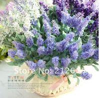 Artificial lavender flowers wholesale,  wedding decorative lavender, free shipping