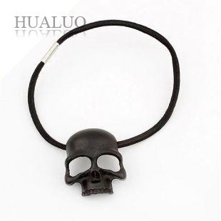 Wholesale Korea New Design Skull Head Headbands All-match Hair Jewelry (Black) H22