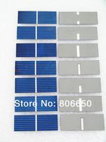 80 pcs 17.6% efficiency 52x19mm solar cell, poly crystalline solar panel DIY Kit value pack