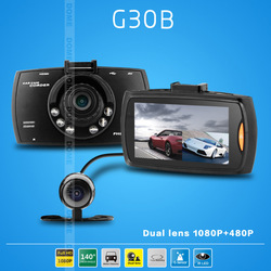 X9000 120degree Dual-lens CAR DVR,2.7&quot;TFT LCD,5M pixels high definition CMOS sensor,LED+IR Night Vision.HK post Free shipping.(China (Mainland))