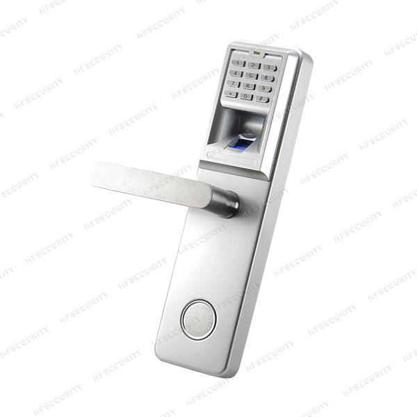 Luxury Door Handles Fingerprint Lock HF-LA801 Fingerprint Security Biometric Digital Lock(China (Mainland))