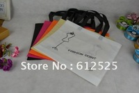 Environmental protection bags/Shopping bags/Five-color non-woven bag Free shipping 40*32*8cm
